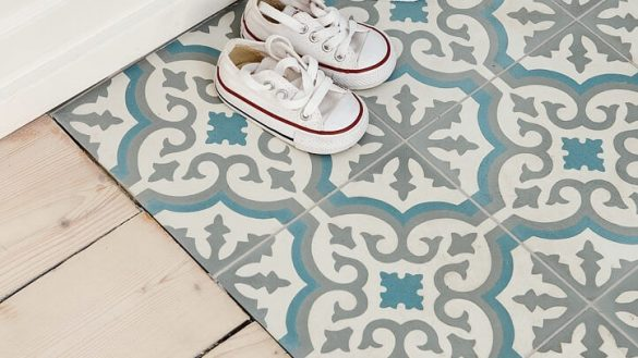 glamorous moroccan ceramic tile in floor tiles the pros and cons nonagon style 585x329